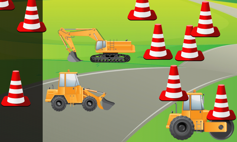 Digger Puzzles for Toddlers- screenshot