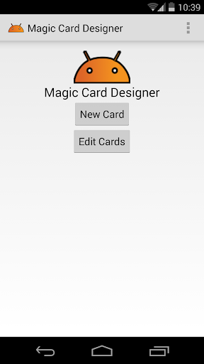 Magic Card Designer