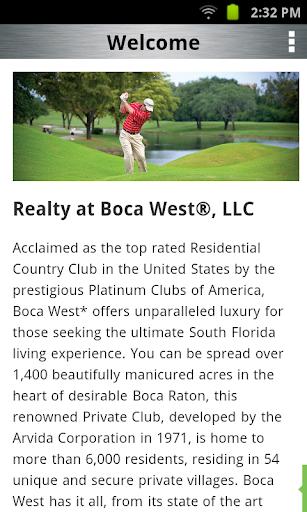 【免費生活App】Boca West Realty-APP點子