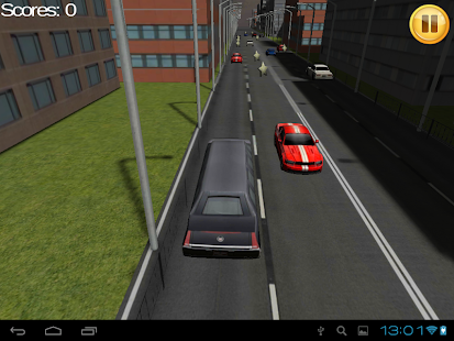 Limo Traffic Racing 3D TAB - screenshot thumbnail