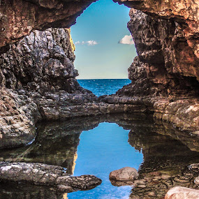 Sea view by Irena Perkušić - Nature Up Close Rock & Stone ( lokrum, sea, rock, sirena, , Free, Freedom, Inspire, Inspiring, Inspirational, Emotion )