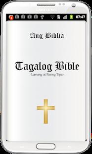 Tagalog Bible -Ang Biblia