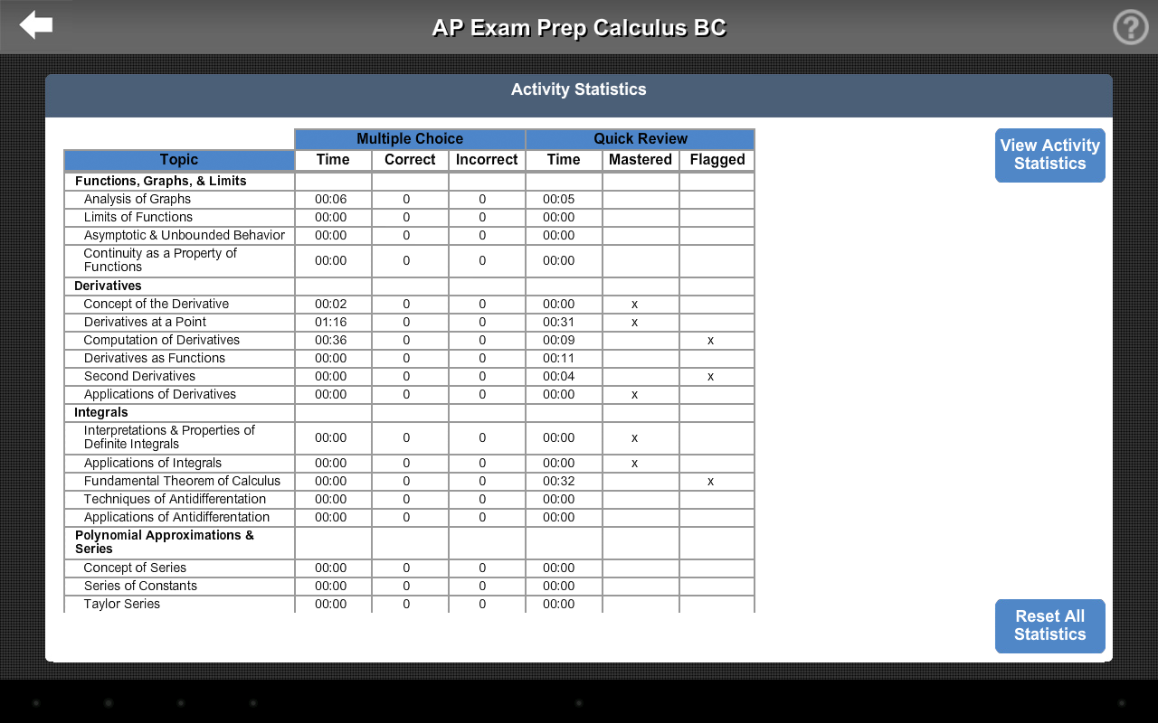 AP Exam Prep Calculus BC LITE- screenshot