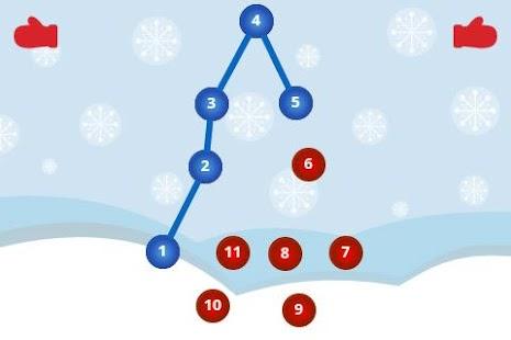 Connect the Dots for Kids Xmas- screenshot thumbnail