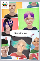 Screenshot of Toca Hair Salon Me
