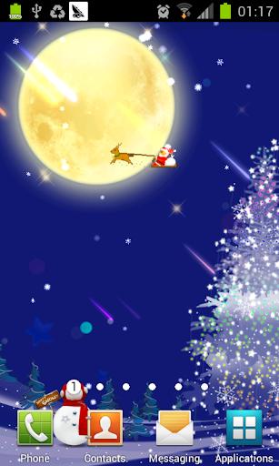 唯美圣诞树动态壁纸