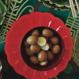 Sesame Quail Eggs.