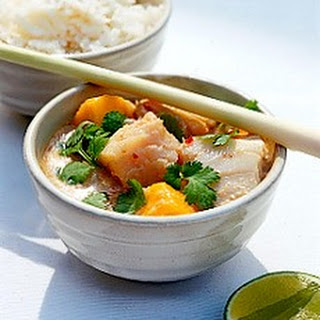 Thai Fish Curry with Mango