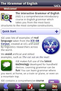 iGE: iGrammar of English - screenshot thumbnail