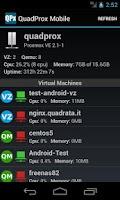 Screenshot of QuadProx Mobile