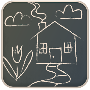 Chalkboard Draw Icon