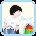 Cute love boy dodol theme icon