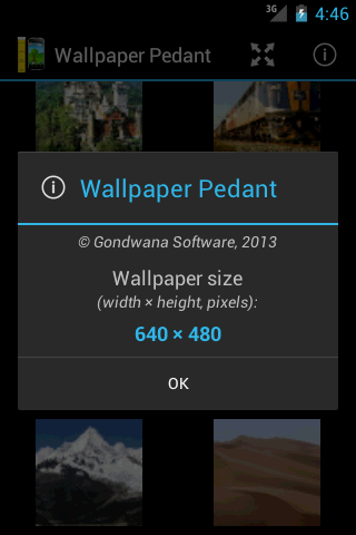 Wallpaper Pedant- screenshot