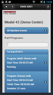 Thermwood CNC Mobile - screenshot thumbnail