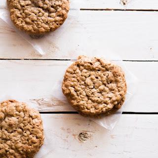 Honey Cinnamon Oatmeal Cookies