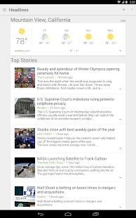 Google News & Weather Screenshot 10