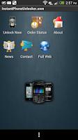 Screenshot of Unlock Samsung Phones