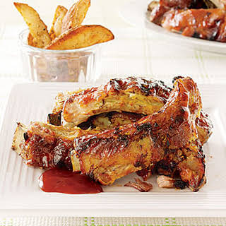 Slow-Cooked Baby Back Ribs.