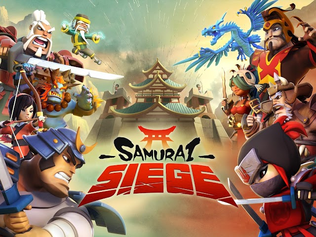 android Samurai Siege: Alliance Wars Screenshot 0