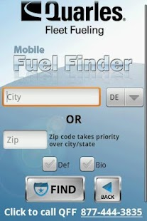 QFF Mobile Fuel Finder- screenshot thumbnail
