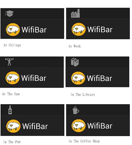 WifiBar Trial- Status bar Icon