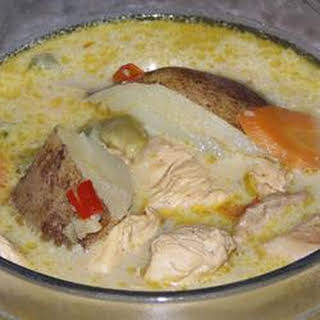 Vietnamese-Style Chicken Curry Soup.