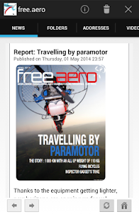 free.aero flying magazine- screenshot thumbnail