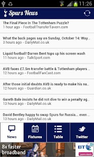 Spurs News - screenshot thumbnail