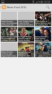 Sydney Roosters News - screenshot thumbnail
