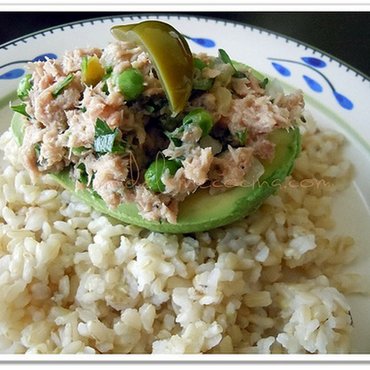 Avocado Tuna Boats Recipe