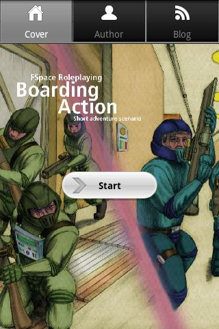FSpaceRPG Boarding Action