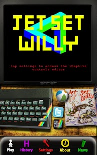 Jet Set Willy: ZX Spec (SIII)- screenshot thumbnail