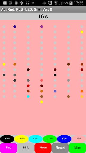 Auto Random Pattern LED Sim.