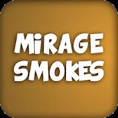 CS:GO smokes (Mirage)