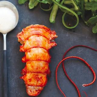 Lobster And Arugula Salad With Vanilla Bean Vinaigrette