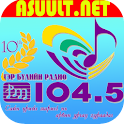 FAMILY FM 104.5 Radio Mongolia logo