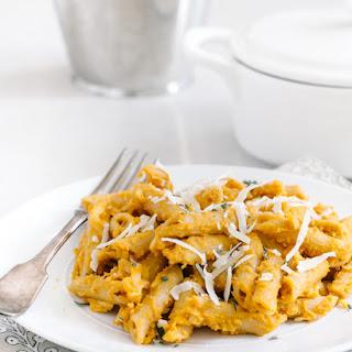 Pumpkin Penne with Parmesan