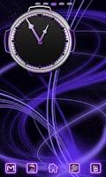 Screenshot of Neon Purple Style Go Launcher