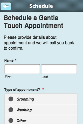 Gentle touch pet grooming android apps on google play for A gentle touch salon