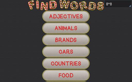 【免費解謎App】查找單詞-APP點子