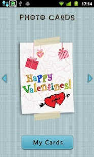 Photo Cards - Valentine's day Screenshot 1
