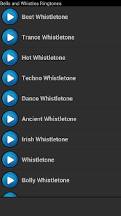 Bells and Whistles Ringtones - screenshot thumbnail