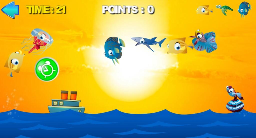 Fellow Fishes free kids game- screenshot