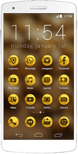 Luxicons Solid Gold