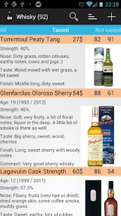 Whisky Catalog- screenshot thumbnail