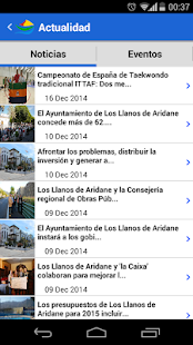 Los Llanos App- screenshot thumbnail