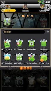 Halloween GO Launcher EX Theme - screenshot thumbnail