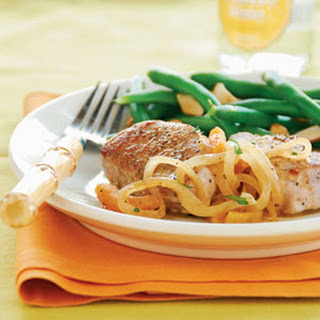 Pork Medallions with Apricot-Orange Sauce