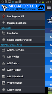 MEGADOPPLER – ABC7 LA WEATHER - screenshot thumbnail