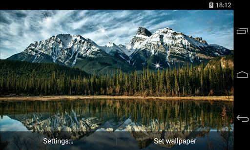 免費個人化App|Landscapes Mountains LWP|阿達玩APP